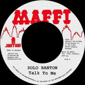 Solo Banton – <br>Talk To Me