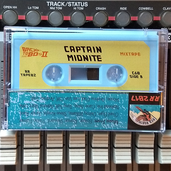 Captain Midnite - Back To The 80s II mixtape (Red Robin series)