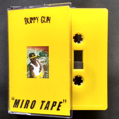 Duppy Gun vs Bokeh versions – Miro Tape (cassette)
