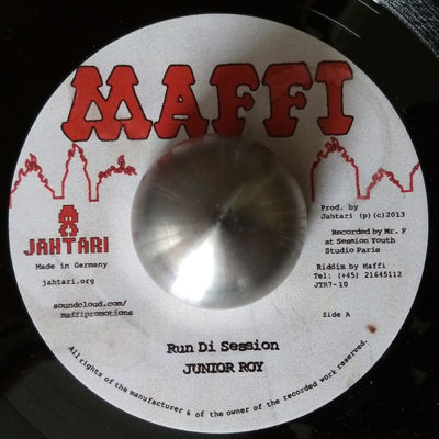 Junior Roy – Run Di Session / Lord Sassafrass – Talking Yardie (Maffi 7″)