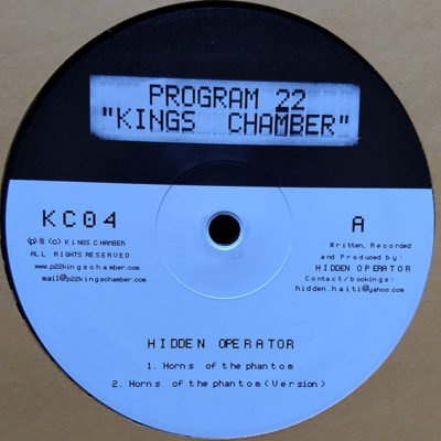Hidden Operator – Horns Of The Phantom (10″)