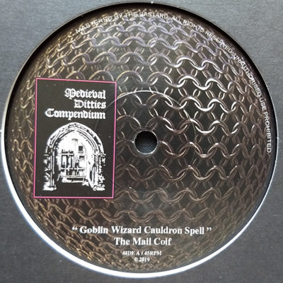 The Mail Coif – Goblin Wizard Cauldron Spell (7″)