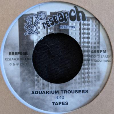 Tapes – Aquarium Trousers / Sauna Research (7″)